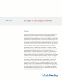 6 Steps to Securing Your Domains