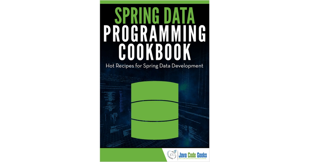 Guía Gratuita - Spring Data Programming Cookbook