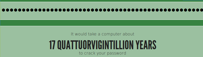 How long would it take to crack the password?