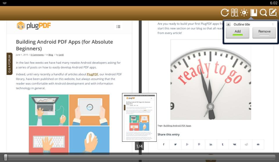 Cómo Programar Un Completo Lector PDF en Android